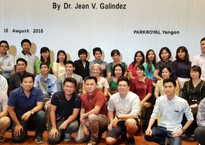 Myanmar Dentists and I